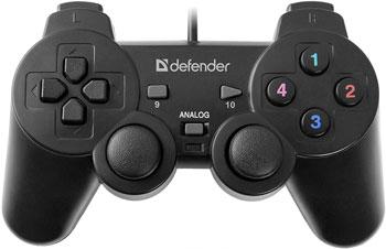 Геймпад Defender Omega USB 64247 геймпад defender zoom usb 64244