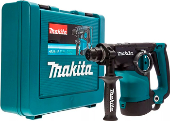 Перфоратор Makita SDS Plus HR 2811 F перфоратор hr2810 800 вт 2 9 дж sds plus makita