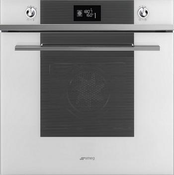 Встраиваемый электрический духовой шкаф Smeg SF 6102 TVB встраиваемый газовый духовой шкаф smeg sf 800 gvpo