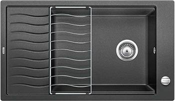 Кухонная мойка BLANCO ELON XL 8 S антрацит inFino 524860 мойка кухонная blanco elon xl 6 s антрацит 518735