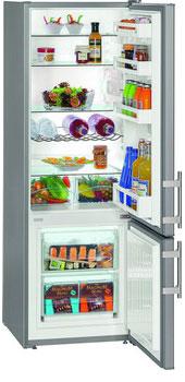 Двухкамерный холодильник Liebherr CUsl 2811 холодильник liebherr cusl 2811 20001