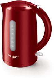Чайник электрический Oursson EK 1710 P/DC (Темная вишня) чайник электрический oursson ek 1710 p dc темная вишня