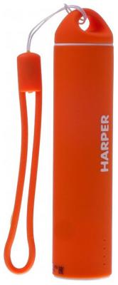 Зарядное устройство портативное универсальное Harper PB-2602 orange harper внешний аккумулятор harper pb 2602 purple