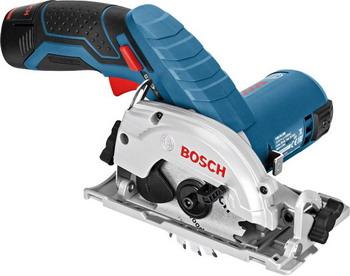 Дисковая (циркулярная) пила Bosch GKS 12 V-26 L-BOXX 06016 A 1000 пила bosch gks 10 8 v li gks 12v 26 l boxx 06016a1000