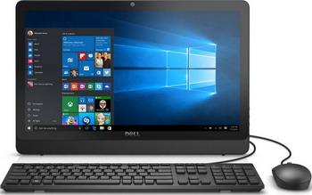 Моноблок Dell Inspiron 3464-9913 черный ноутбук dell inspiron 5567 5567 1998 5567 1998