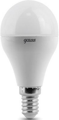 Лампа GAUSS LED Globe E 14 6.5W 2700 K 105101107 лампа gauss led elementary globe 10 w e 14 2700 k 53110