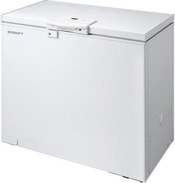 Морозильный ларь Kraft BD (W) 225 HL с LCD дисплеем на ручке (белый) морозильный ларь kraft bd w 350qx белый