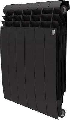 Водяной радиатор отопления Royal Thermo BiLiner 500-6 Noir Sable