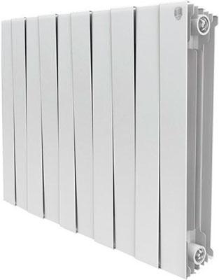Водяной радиатор отопления Royal Thermo PianoForte 500/Bianco Traffico - 10 секц. радиатор отопления royal thermo pianoforte 500 silver satin 10 секц