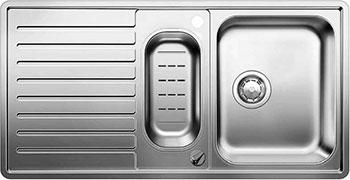 Кухонная мойка BLANCO CLASSIC PRO 6 S-IF нерж.сталь зеркальная полировка с клапаном-автоматом мойка classic pro 45 s if 516842 blanco