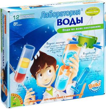 Французские опыты Науки с Буки Bondibon Лаборатория воды ВВ0922