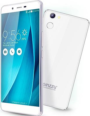 Мобильный телефон Ginzzu S 5140 белый мобильный телефон ginzzu r12 белый