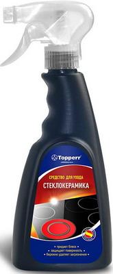 Спрей для ухода за стеклокерамическими поверхностями Topperr 3431 набор topperr для ухода за мультиваркой