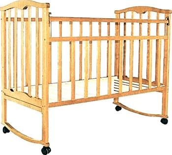 Детская кроватка Агат Золушка-1 Светлый кроватка агат золушка 1 слоновая кость 52105