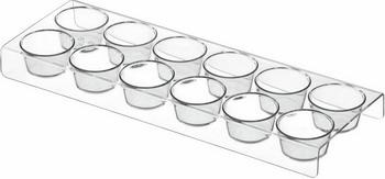 Фото - Подставка для яиц на 12 шт Bosch 00654282 двухкамерный холодильник hitachi r vg 472 pu3 gbw