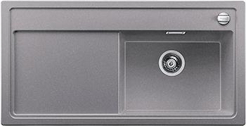 Кухонная мойка BLANCO 523888 ZENAR XL 6S-F чаша справа SILGRANIT алюметаллик с кл.-авт. InFino кухонная мойка blanco zenar xl 6s compact шампань чаша справа доска стекло c кл авт infino 523760