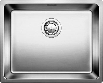 Кухонная мойка BLANCO ANDANO 500-U InFino нерж.сталь 522967 blanco alta 512319 tap mixing valve oriental style chrome by blanco