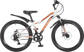 Велосипед Stinger 24'' Boxxer D 12 5'' белый 24 AHD.BOXXD.12 WH7