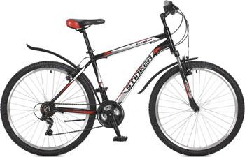 Велосипед Stinger 26'' Element 20'' черный 26 AHV.ELEM.20 BK7 велосипед stinger element 26 2016