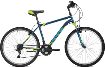 Велосипед Stinger 26'' Caiman 20'' синий 26 SHV.CAIMAN.20 BL8 велосипед stinger caiman 26 2017