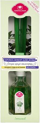 Арома-диффузор CRISTALINAS Mikado для жилых помещений с ароматом ночного жасмина 180 мл