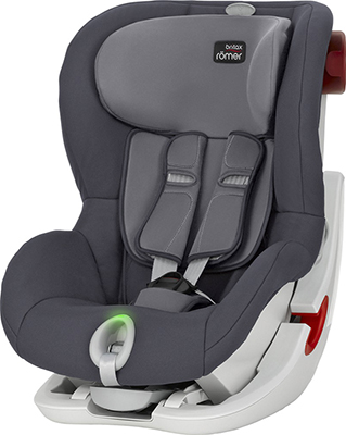Автокресло Britax Roemer King II LS Storm Grey Trendline 2000025678 автокресло группа 1 9 18кг britax roemer king ii ls black series moonlight blue