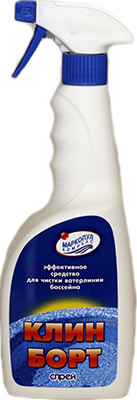 Купить Средство для очистки Маркопул, КЛИН-БОРТ СПРЕЙ Кемиклс 0 75л бутылка М14, Китай