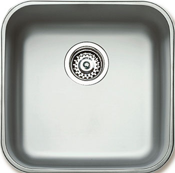 Кухонная мойка Teka BE 400.400.200 PLUS POLISHED мойка кухонная teka roundbowl 45 1b polished 10108025