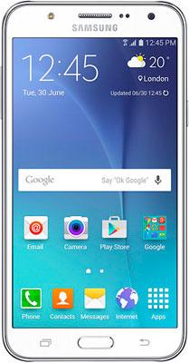 Мобильный телефон Samsung Galaxy J5 (2016) 16 ГБ белый накладка bling my thing warp deluxe для iphone 8 plus золотой ip8 l wd cl gld