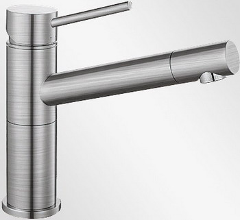 Кухонный смеситель BLANCO ALTA Compact нерж. сталь смеситель alta stainless steel 512321 blanco