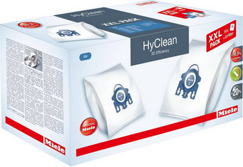 Набор пылесборников Miele XXL GN HyClean 3D Efficiency (41996596 EU1) мешки miele hyclean 3d efficiency для пылесоса miele fjm red