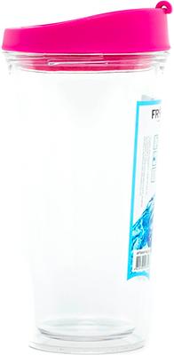 Стакан Frybest AC2-02 NICE 500 ml Розовый stm32 qfp48 qfp48 lqfp48 stm32f10xc stm32l15xc yamaichi stm32 ic test socket programming adapter 0 5mm pitch