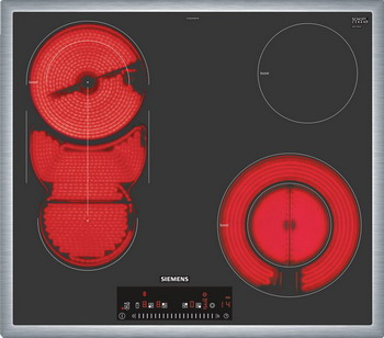 Встраиваемая электрическая варочная панель Siemens ET 645 FMP 1R встраиваемая электрическая варочная панель siemens ex 675 lxe1e
