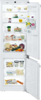 Встраиваемый двухкамерный холодильник Liebherr ICBN 3324 двухкамерный холодильник liebherr ctp 2521