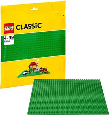 Конструктор Lego CLASSIC Строительная пластина зеленого цвета 10700 2304 конструктор lego duplo строительная пластина 38х38 1 элемент 2304