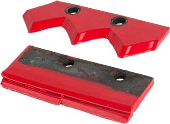 Нож сменный для шнека двухзаходный для грунта DDE (300 мм)(120х32х4мм плоский) (пара) шарико винтовая пара cna sfu1605 300 rm1605 300 1 1 ballnut bk bf12