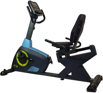 Велотренажер горизонтальный SPORT ELIT SE-503 R эллипсоид sport elit se 703  магнитный