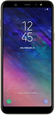 Смартфон Samsung Galaxy A6+ 32 GB SM- 605 золотой
