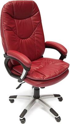 Кресло Tetchair COMFORT (кож/зам бордо PU-C 36-7) кресло tetchair parma кож зам черный бордо pu c 36 6 pu c 36 7