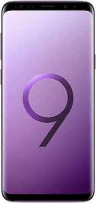Мобильный телефон Samsung Galaxy S9+ 256 GB SM- 965 F ультрафиолет