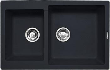 Фото Кухонная мойка Zigmund amp Shtain Rechteck 400.275 черный базальт
