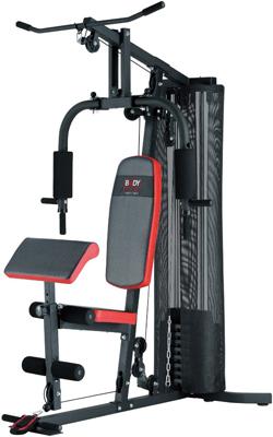 Тренажер многофункциональный BODY SCULPTURE BMG-4302 многофункциональный тренажер body solid exm1500s с весовым стеком 72 5 кг