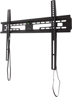 Кронштейн для телевизоров Kromax FLAT-1 black кронштейн kromax star 1 фиксированный кронштейн для жк и плазмы 42 70 vesa 800x500 мм макс нагр 75 кг grey
