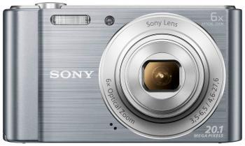 Цифровой фотоаппарат Sony DSC-W 810 серебристый sony replacement 2 7 lcd touch screen module w backlight for dsc t2 black silver