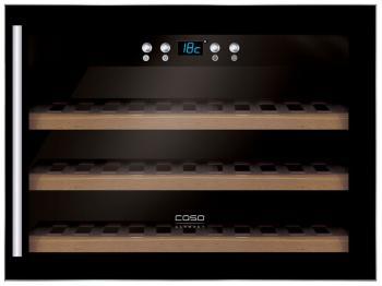 Встраиваемый винный шкаф CASO WineSafe 18 EB caso eco 3400