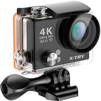 Экшн-камера X-TRY XTC 150 4К UltraHD WiFi экшн камера x ride ultra hd dv755