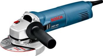 Угловая шлифовальная машина (болгарка) Bosch GWS 1400 (06018248 R0) болгарка bosch gws 9 125