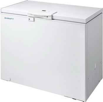 Морозильный ларь Kraft BD (W) 275 HL с LCD дисплеем на ручке (белый) морозильный ларь kraft bd w 335 blg с доп стеклом c lcd дисплеем белый