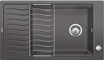 Кухонная мойка BLANCO ELON XL 8 S темная скала мойка кухонная blanco elon xl 6 s шампань с клапаном автоматом 518741