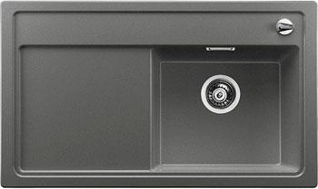 Кухонная мойка BLANCO ZENAR 45 S- F чаша справа SILGRANIT алюметаллик с клапаном-автоматом  цена и фото